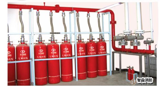 七氟丙烷灭火系统结构